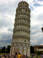 Leaning Tower of Pisa in Pisa, Italy. Taken by me, Goldenera, with my iPhone 4.