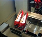 "Take Me Back to OZ ""Red Shoes"" by BCBG. Photo taken by Goldenera in Rome with my iPhone 4."